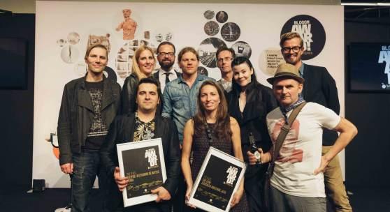 Gewinner und Jury des BLOOOM Award by WARSTEINER 2015 © Warsteiner