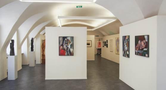 Blick in die Ausstellung (c) kopriva-kunst.com