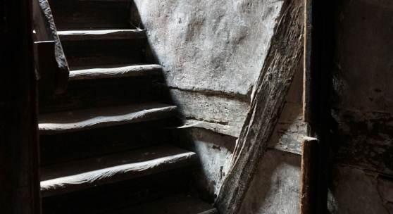 Treppe in der Bockgasse 4 in Ulm © Deutsche Stiftung Denkmalschutz