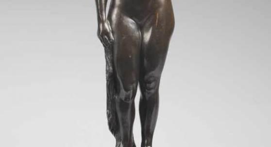 Bossard, Johann Michael (1874 Zug/ Schweiz - 1950 Jesteburg) Bronze, Aufrufpreis:800 EUR Schätzpreis: Zuschlagspreis:12.000 EUR
