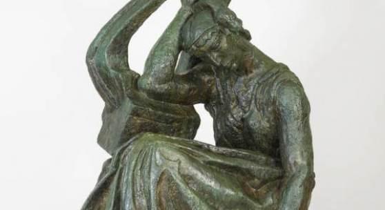 Antoine Bourdelle, Sappho, 1887/1925 Bronze, 207 x 100 x 145 cm Kunsthaus Zürich, Geschenk Alexis Rudier