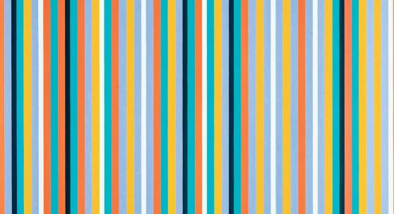 Bridget Riley. Cool Edge from 1982 (est. £800,000-1.2 million), is one of the fines