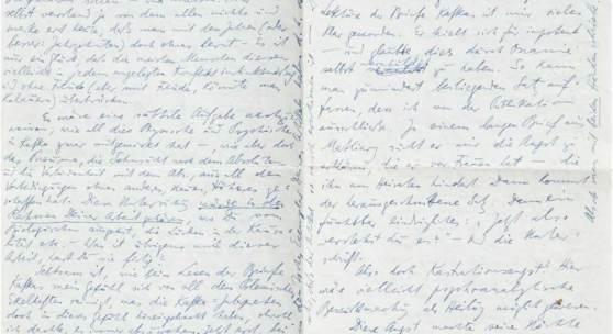 Brod, Max (Schriftsteller; Prag 1884 - 1968 Tel Aviv). Eigenhändiger Brief  Mindestpreis:3.000 EUR Aufrufpreis: Schätzpreis:4.000 EUR