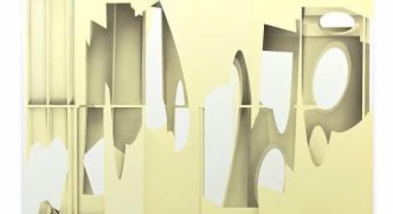 Benjamin Bronni, Fold Space (Yellow), 2017, © Benjamin Bronni