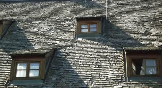 Dach des Schwarzwaldhofes in Obereschbach © Ulrich Teichert, March