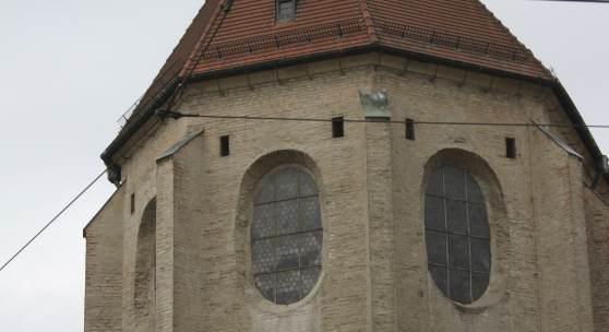 Barfüßerkirche in Augsburg © Deutsche Stiftung Denkmalschutz/Schabe