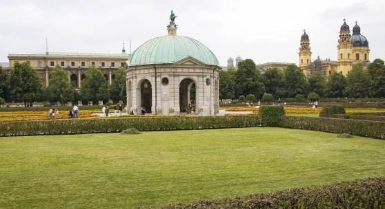 Münchener Hofgartenarkaden © Roland Rossner/Deutsche Stiftung Denkmalschutz