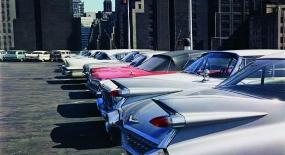 Evelyn Hofer, Car Park, New York, 1965 © Estate Evelyn Hofer, courtesy Galerie m, Bochum