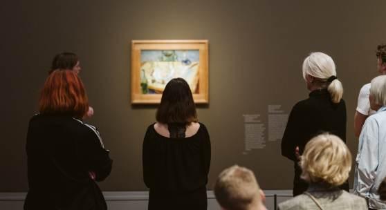 Ausstellungsansicht Vincent van Gogh (c) museum-barberini.com