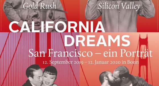 "Plakat ""CALIFORNIA DREAMS  San Francisco – ein Porträt"""