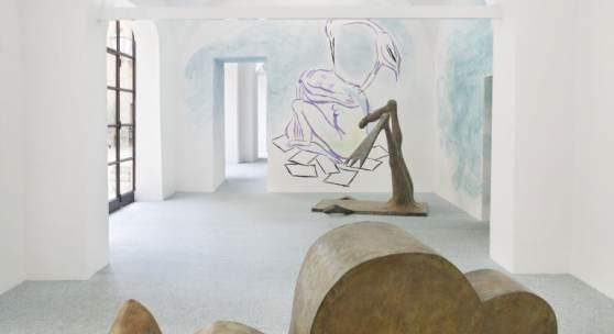 Camille Henrot, Monday. Installationsansicht, Fondazione Memmo, Rom