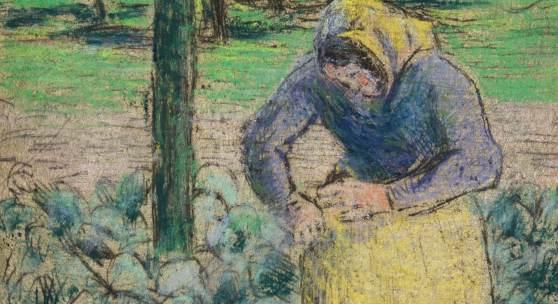 Camille Pissarro, Femme dans le potager, est. £15,000 – 20,000