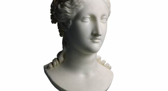 Sotheby's London, 4 July 2018 Antonio Canova (1757-1822) Bust of Peace white marble