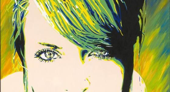 Carola Paschold - Summer- 2012 -oil on canvas - H 100 cm x 100cm (Sc 01 2013 Kl)
