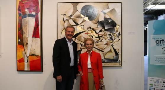 Carolina Herrara & CEO Eric Smith