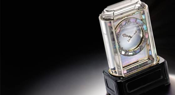 Cartier, An Exceptional and Rare Mystery Clock