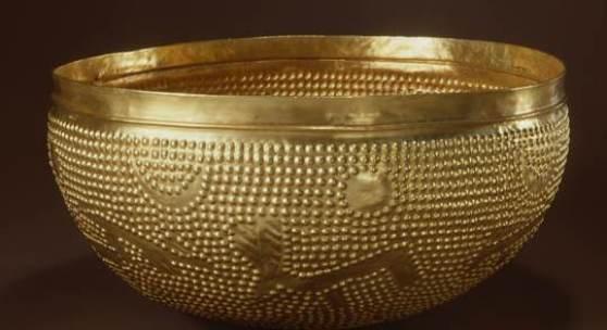 Die Goldschale von Zürich-Altstetten (ZH). Bronzenzeit. © Schweizerisches Nationalmuseum