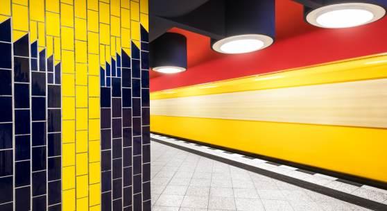 Underground Architecture Berliner U Bahnhöfe 19531994