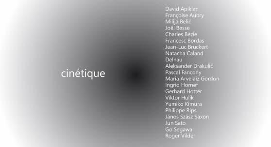 Cinetique - Geometrisch-konzeptuelle Malerei