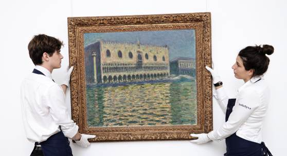 Claude Monet, Le Palais Ducal, oil on canvas, 1908 (est. £20,000,000-30,000,000)