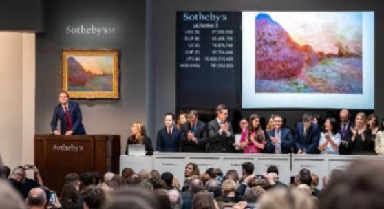 Claude Monet, Meules, sold for $110.7 million