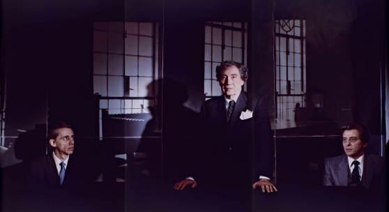 Clegg & Guttman, Gangster, 1985, dreiteilige Fotoserie, Courtesy Sammlung Falckenberg/Deichtorhallen Hamburg © Clegg & Guttmann