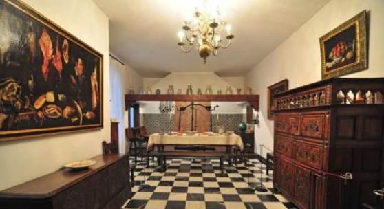 La última habitación que veremos relacionada con esta recreación de una casa del siglo XVII es la Cocina. (c) unaventanadesdemadrid.com