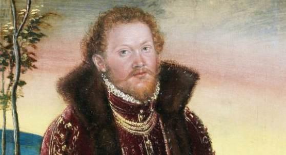 Los 47 Lucas Cranach the Younger (Wittenberg 1515-1586 Weimar) Portrait of Prinz Joachim Ernst von Anhalt; and Portrait of Prinzessin Agnes Gräfin von Barby (2) Verkauft für £68.500 (€87.127) inkl. Zuschlag
