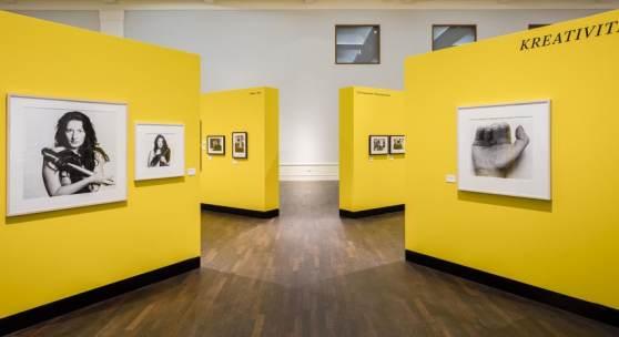 Künstler Komplex – Fotografische Porträts von Baselitz bis Warhol. Sammlung Platen, Ausstellungsansicht Museum für Fotografie 2018 © Staatliche Museen zu Berlin / David von Becker