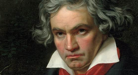 Joseph Karl Stieler Beethoven mit dem Manuskript der Missa solemnis 1820 Beethoven-Haus Bonn  © Beethoven-Haus Bonn