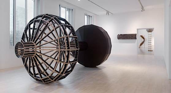 Leunora Salihu, GRAVITY ON A JOURNEY, 2017, Installationsansicht K21 Ständehaus, Foto: Achim Kukulies
