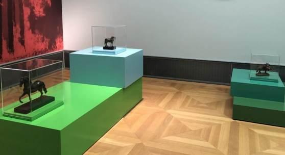 Lebewesen, die mal keine Menschen sind, Ausstellungsansicht, Bode-Museum, 2021 © Staatliche Museen zu Berlin