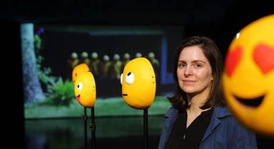 Künstlerin Claudia Larcher, Foto: Universalmuseum Joanneum/J.J. Kucek