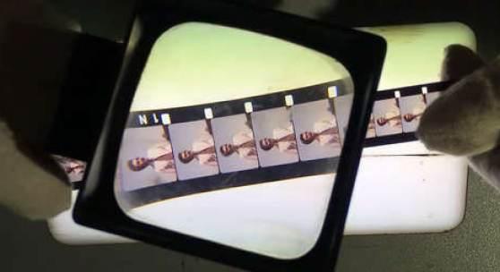 Digitalisierung eines Schmalfilms, Foto: Filmarchiv Austria/Reza Maleki