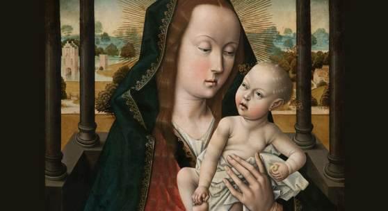 Flandern zu Gast Madonna mit Kind – Dieric Bouts (um 1415–1475), Nachfolge Aus dem M – Museum Leuven, Inv.-Nr. S/47/B