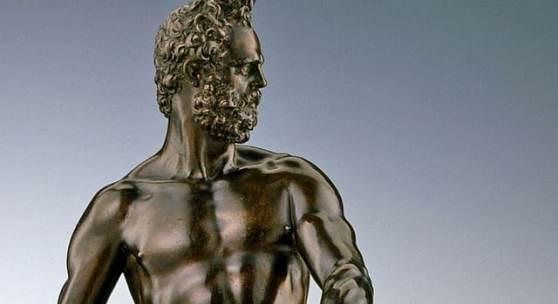 Bronzeskulptur des Kriegsgottes Mars