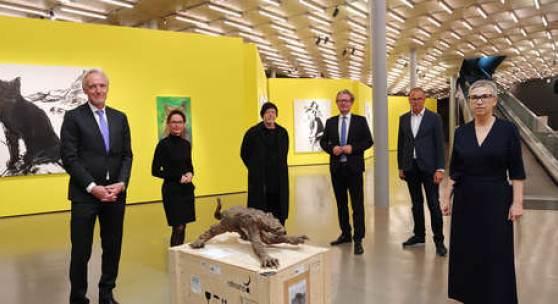 Große Personale von Herbert Brandl im Kunsthaus Graz