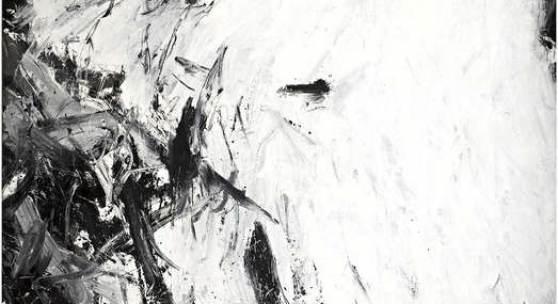 "Günter Brus, ""Ohne Titel"", 1961, Dispersion auf Nessel, 222,5 x 239,5 cm, Foto: UMJ/N. Lackner"