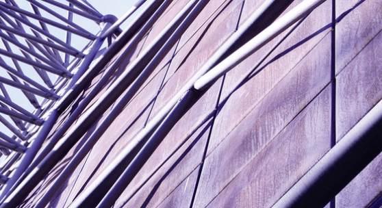 Hubert Hoffmann und Ignaz Gallowitsch (Planer), Hochspannungshalle der Fakultät für Elektrotechnik, TU-Graz, Inffeldgasse (Ausschnitt), Fertigstellung 1972, Foto: Neue Galerie Graz