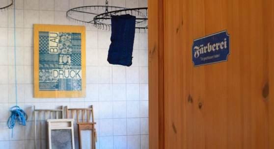 Blaudruckfärberei in Coswig