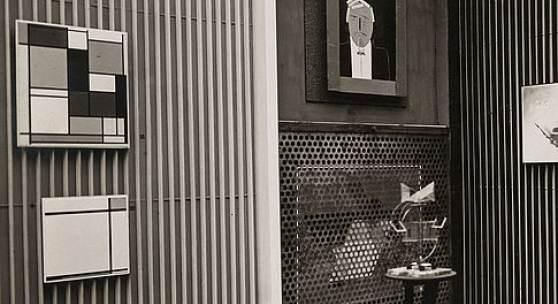 El Lissitzky, Raum für abstrakte Kunst, Internationale Kunstausstellung Dresden 1926 Kupferstich-Kabinett, Staatliche Kunstsammlungen Dresden