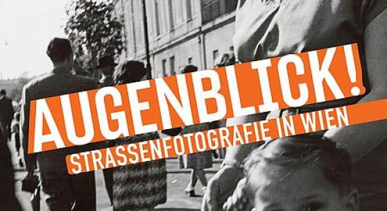 Plakat Augenblick Strassenfotografie in Wien