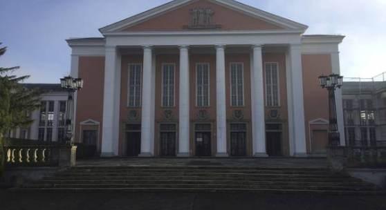 Der Kulturpalast in Unterwellenborn © Deutsche Stiftung Denkmalschutz/Siebert