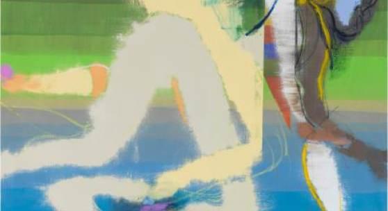 Daniel Richter (*1962) Die Probleme der Unseren, 2015 Öl auf Leinwand, 200 × 170 cm Städel Museum, Frankfurt am Main © VG Bild-Kunst, Bonn 2019