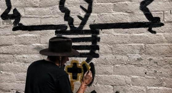 B.U.: Danny Minnick Wall Painting by Rodney Church