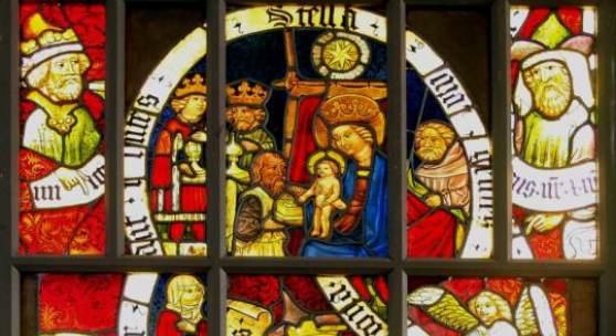 Gotisches Glasfenster aus der ehemaligen Frauenkirche ©  Nürnberg, Germanisches Nationalmuseum