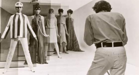 David Hemmings in Blow Up (Regie: Michelangelo Antonioni), 1966  film still   Foto: Arthur Evans, Privatsammlung Wien, Courtesy: Neue Visionen Filmverleih GmbH