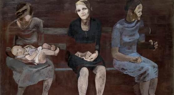 Aleksandr Dejneka (1899-1969) Arbeitslose in Berlin,1932 Öl auf Leinwand, 118,5 x 185 cm © Staatliche Tretjakow-Galerie, Moskau / VG Bild-Kunst, Bonn 2011
