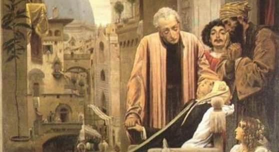 """Renaissance Maler, Malerei; Lord Frederick Leighton, Der Tod der Brunelleschi Neoklassizismus Das Gemälde """"Der Tod der Brunelleschi"""" von Lord Frederick Leighton als hochwertige, handgemalte Ölgemälde-Replikation. Quelle: www.oel-bild.de"""