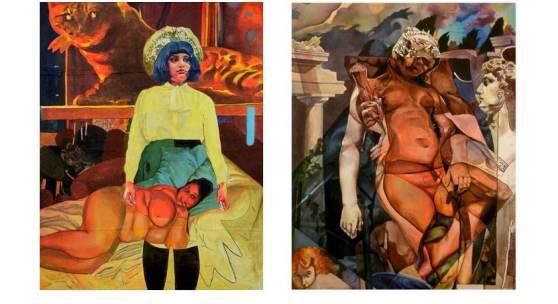 """""""Ein ECHTER Indianer""""  in der Galerie Sandpeck Wien 8"""